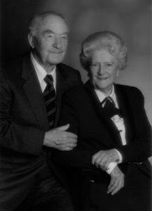 Paul Winnebeck mit seiner Frau Grete