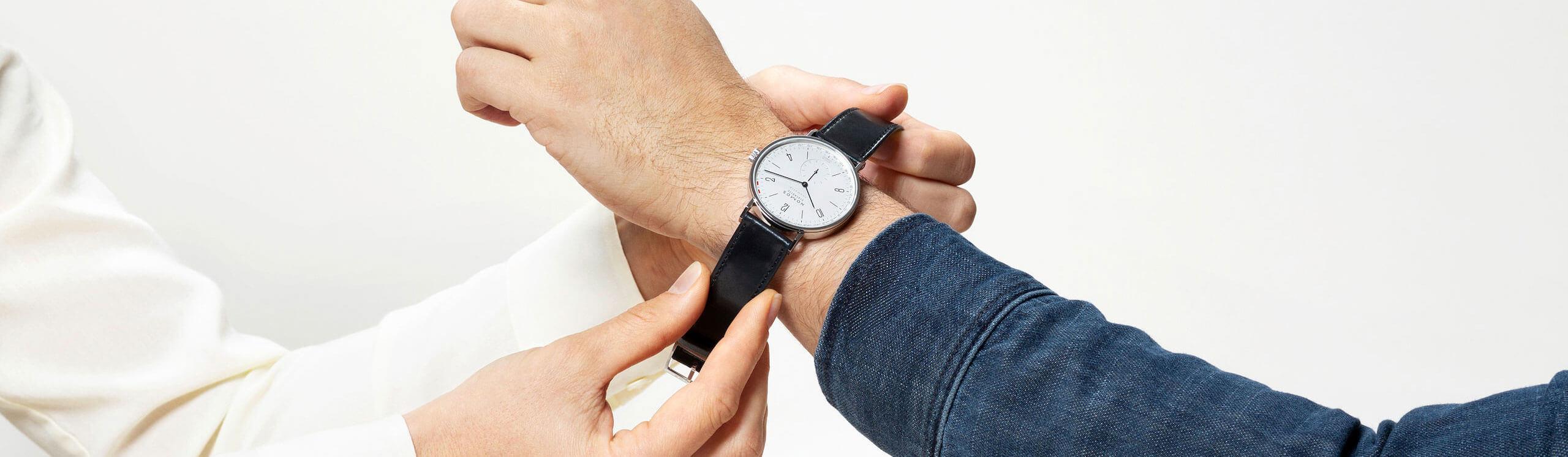 tangente neomatik Paar Uhr